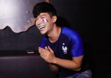 Nathan Lee bật khóc mừng Pháp giành ngôi vô địch World Cup 2018
