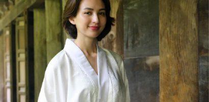 Hoa hậu Ngọc Diễm đón tuổi mới tại Nhật Bản