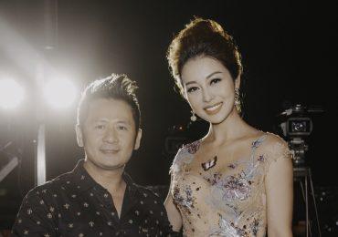 Hoa hậu Jennifer Phạm diện váy xuyên thấu và quyến rũ bên ca sĩ Bằng Kiều